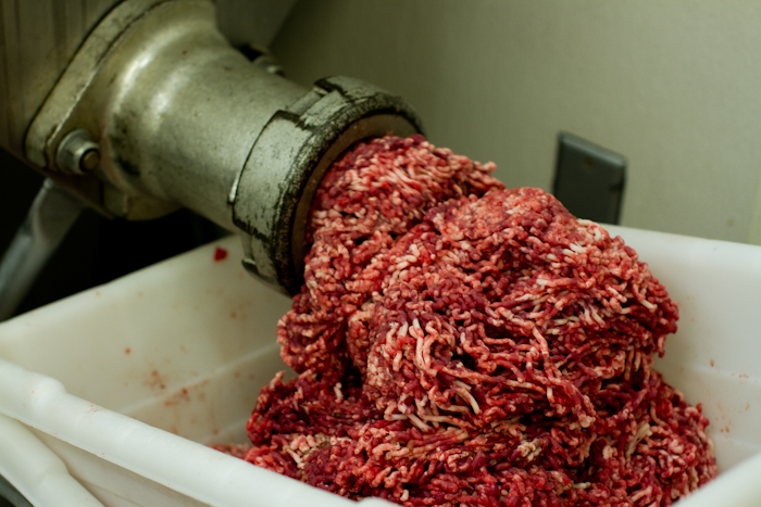 Meet Grinding Plant : Reporter goes undercover as usda meat inspector chico
